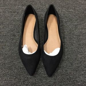 ASOS Black Pointed Flats